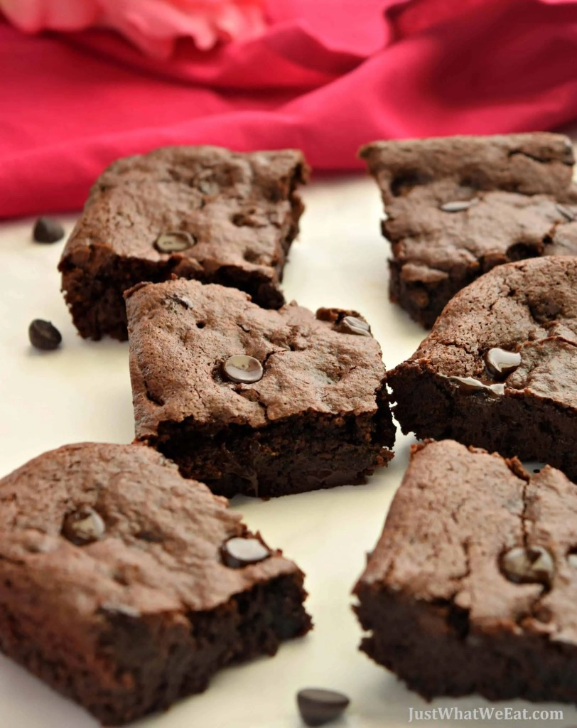 Healthy Fudgy Brownies that are Gluten Free Vegan Refined Sugar Free