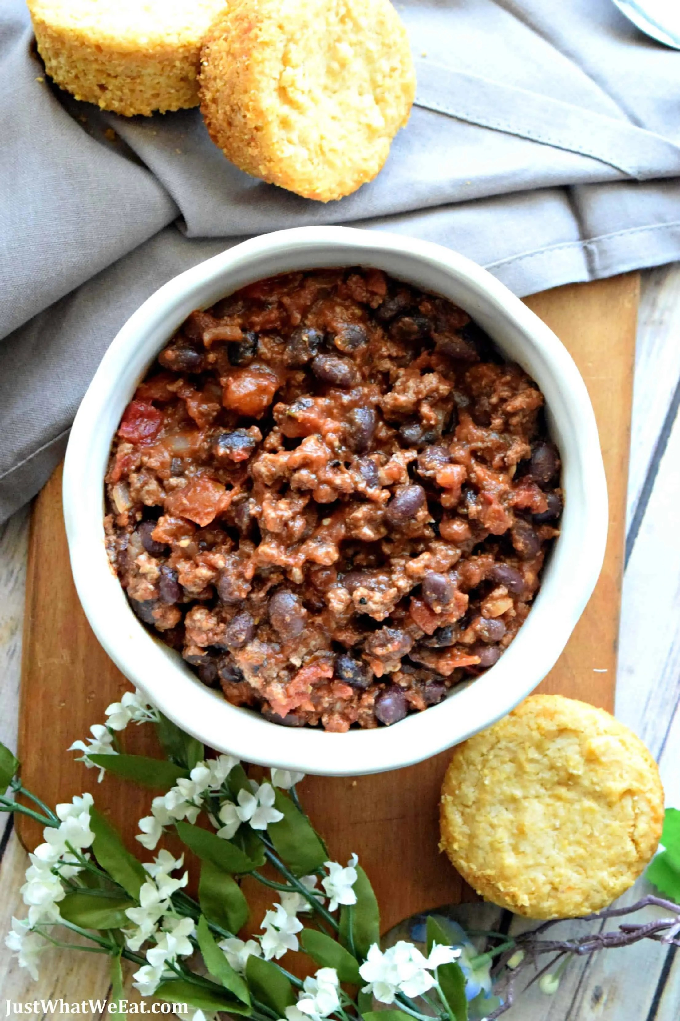 Beef and Bean Chili - Gluten Free