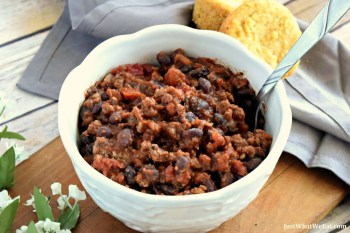 Beef and Bean Chili – Gluten Free & Dairy Free