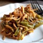 Green Bean Casserole - Gluten Free & Vegan
