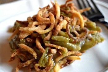 Green Bean Casserole – Gluten Free & Vegan