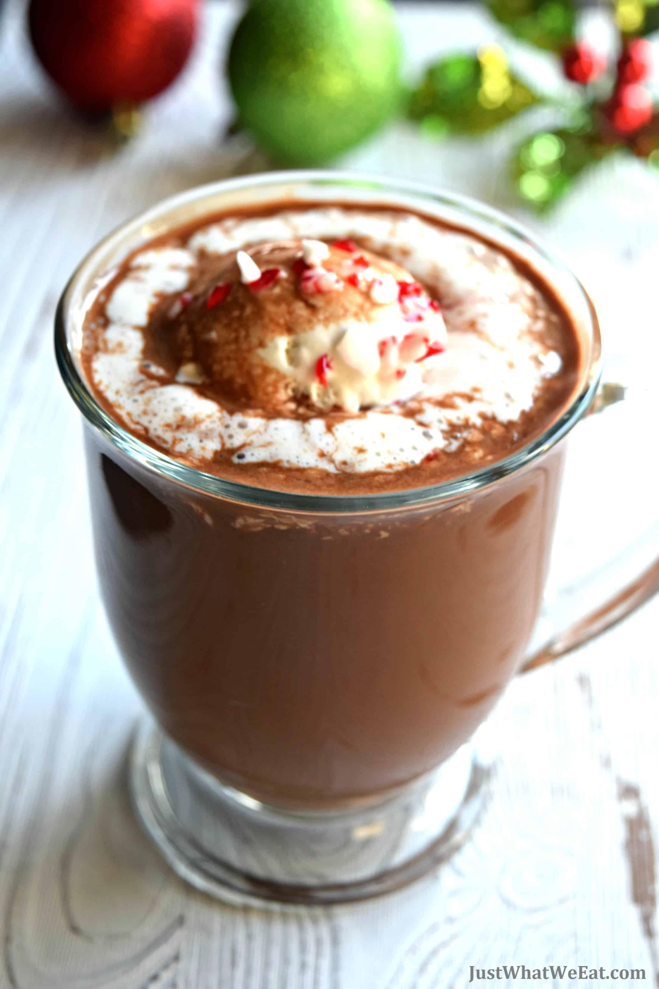 Hot Chocolate - Gluten Free, Vegan, & Refined Sugar Free