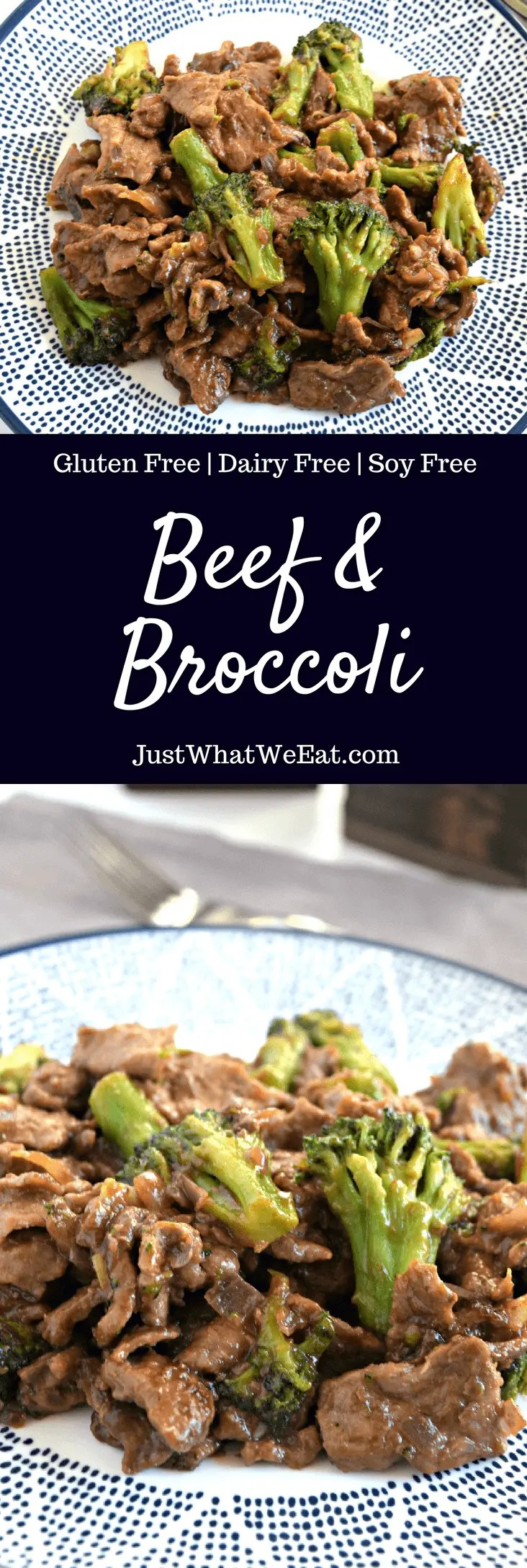 Beef and Broccoli - Gluten Free, Dairy Free, & Soy Free