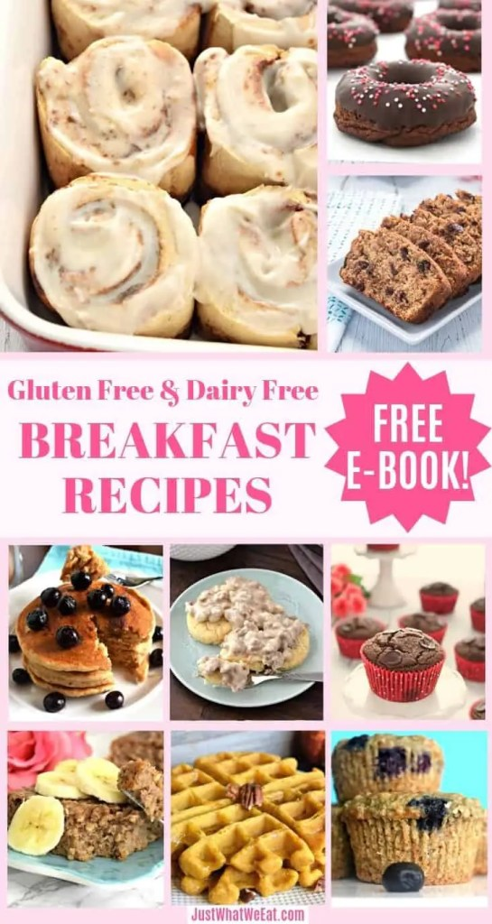 10 Amazing Gluten Free & Dairy Free Breakfast Recipes with FREE e-cookbook