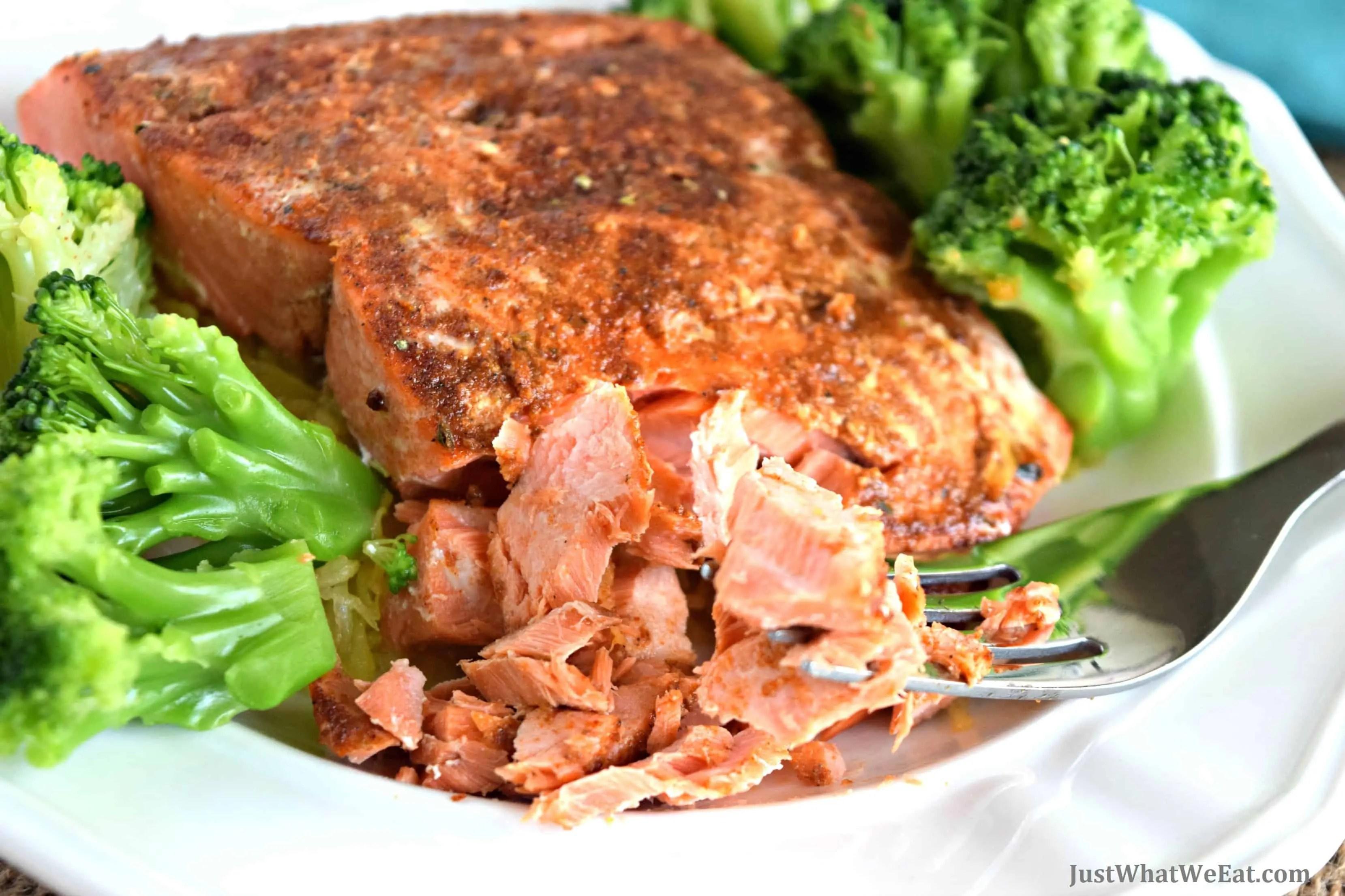 BBQ Baked Salmon - Gluten Free & Dairy Free