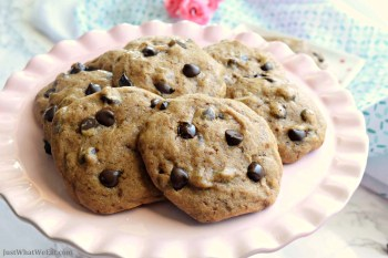 Chocolate Chip Cookies – Gluten Free & Vegan