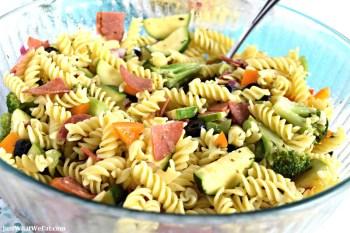 Italian Pasta Salad – Gluten Free & Dairy Free