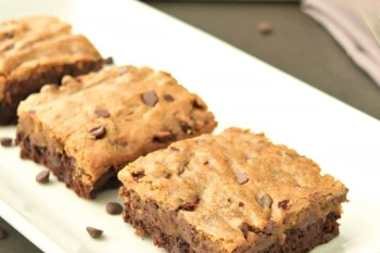 Brownie Cookie Bars – Gluten Free & Vegan
