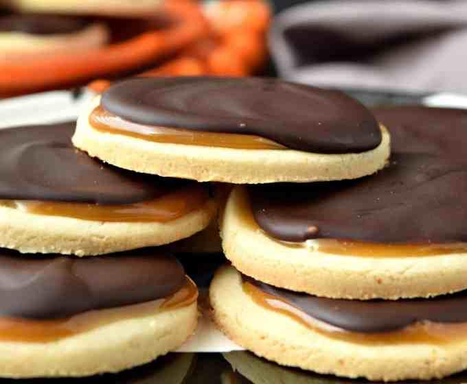 "Coconut Caramel ""Twix"" Cookies – Gluten Free & Vegan"