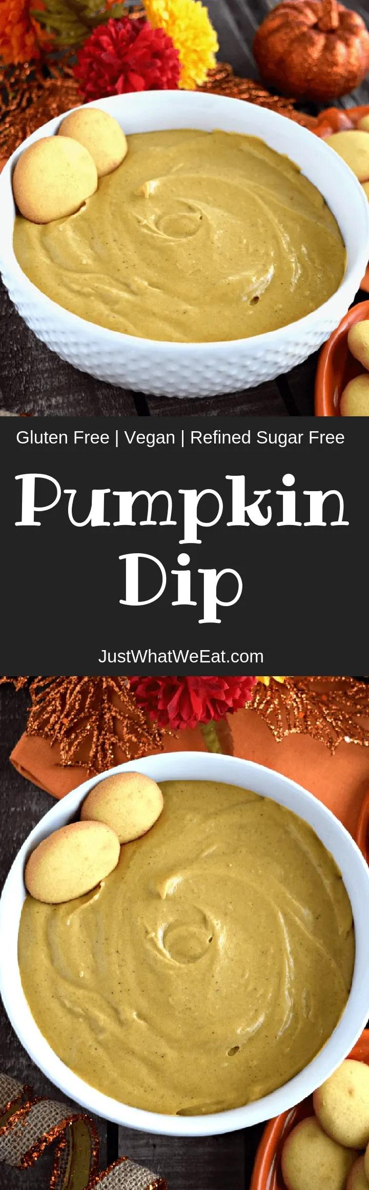 Pumpkin Dip - Gluten Free & Vegan