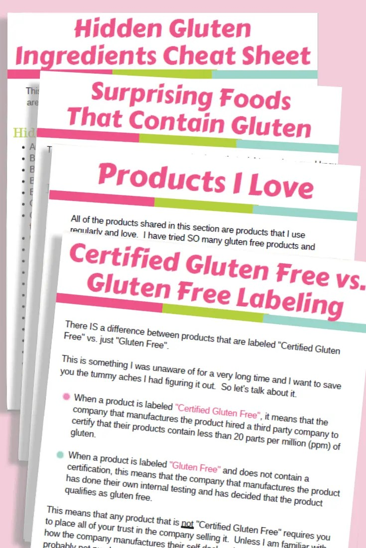Your Guide to Getting Started Gluten Free