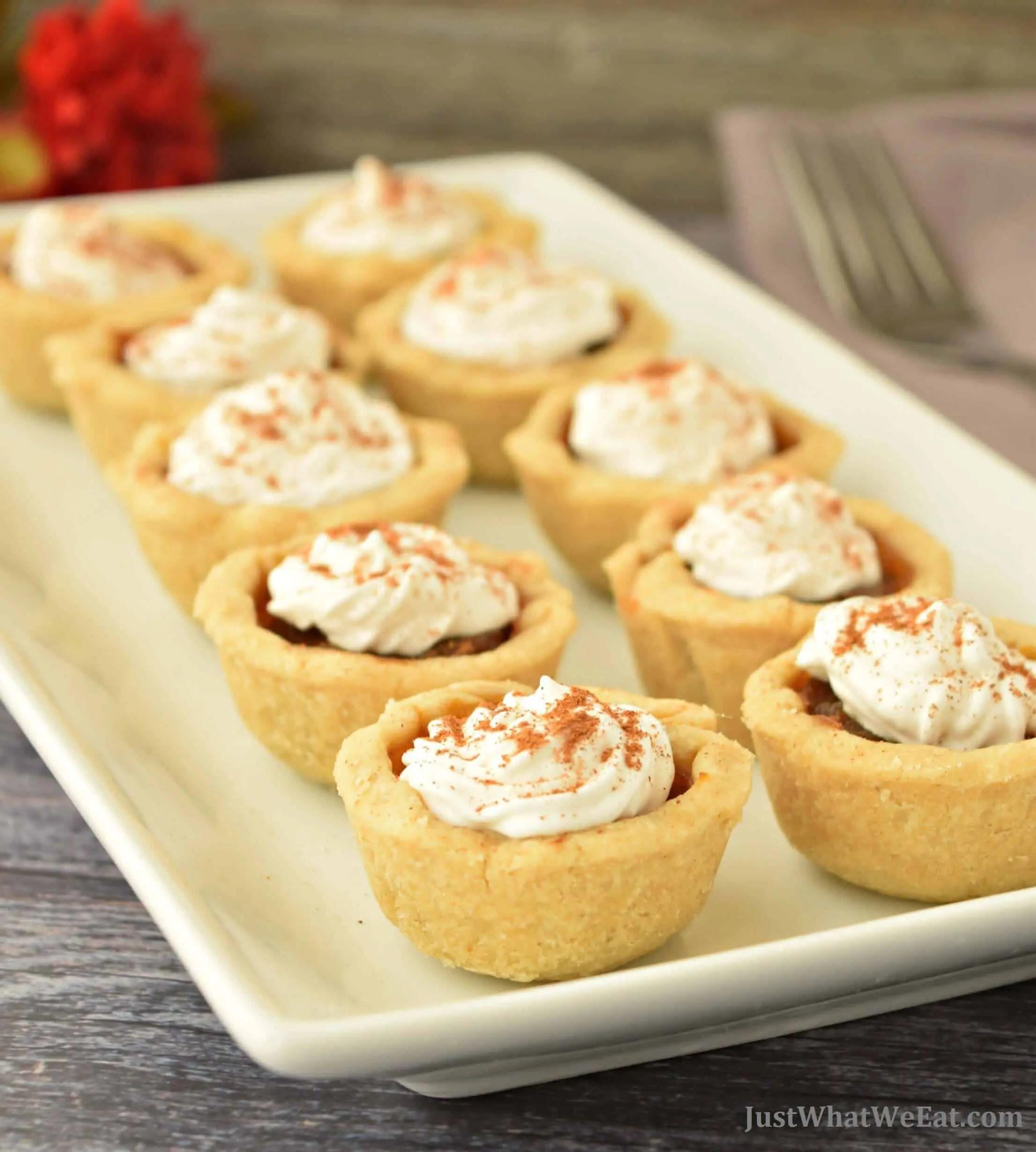 Pumpkin Pie Bites - Gluten Free & Vegan
