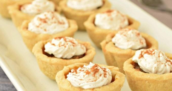Pumpkin Pie Bites – Gluten Free, Vegan, & Refined Sugar Free