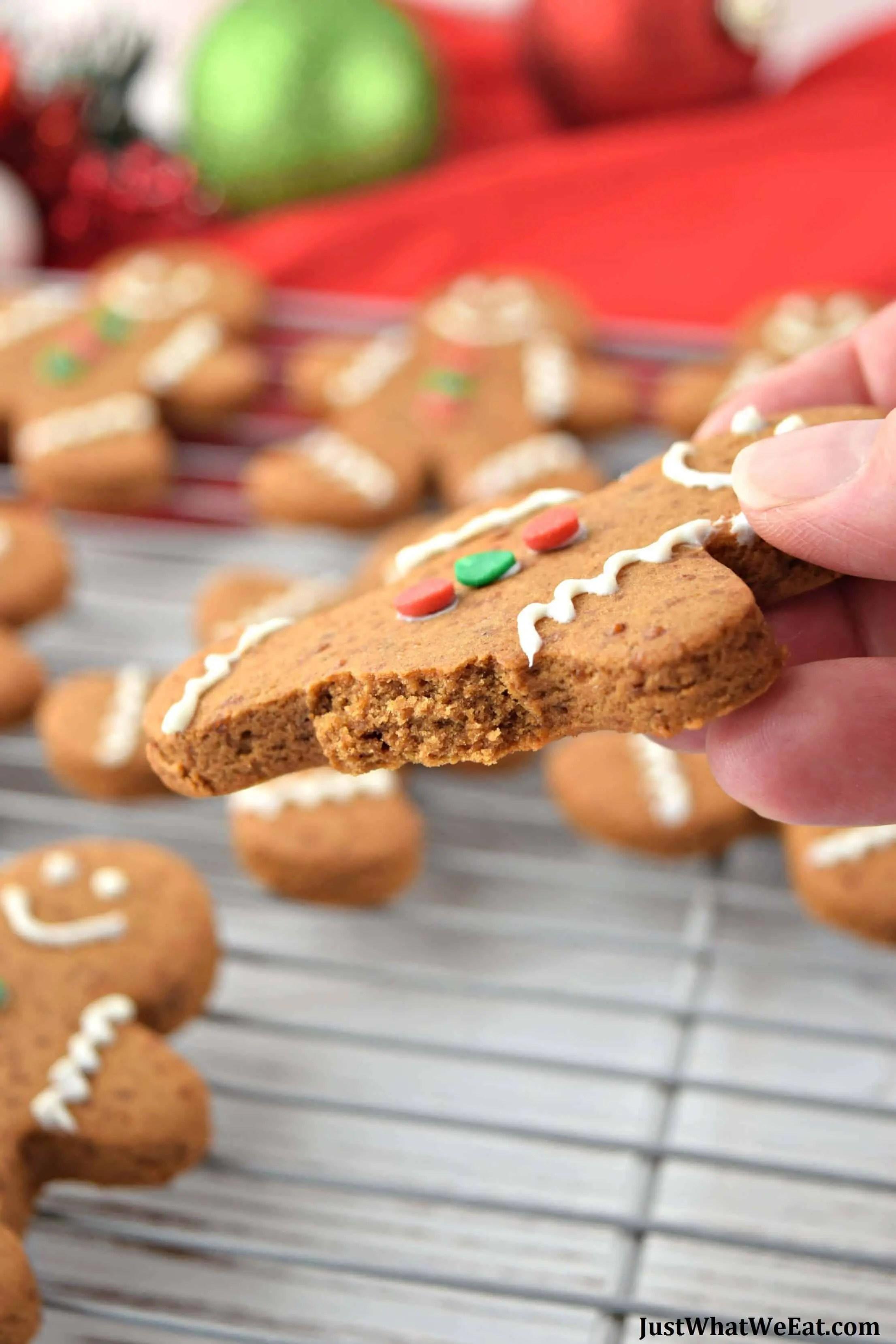 Gingerbread Cookies - Gluten Free & Vegan
