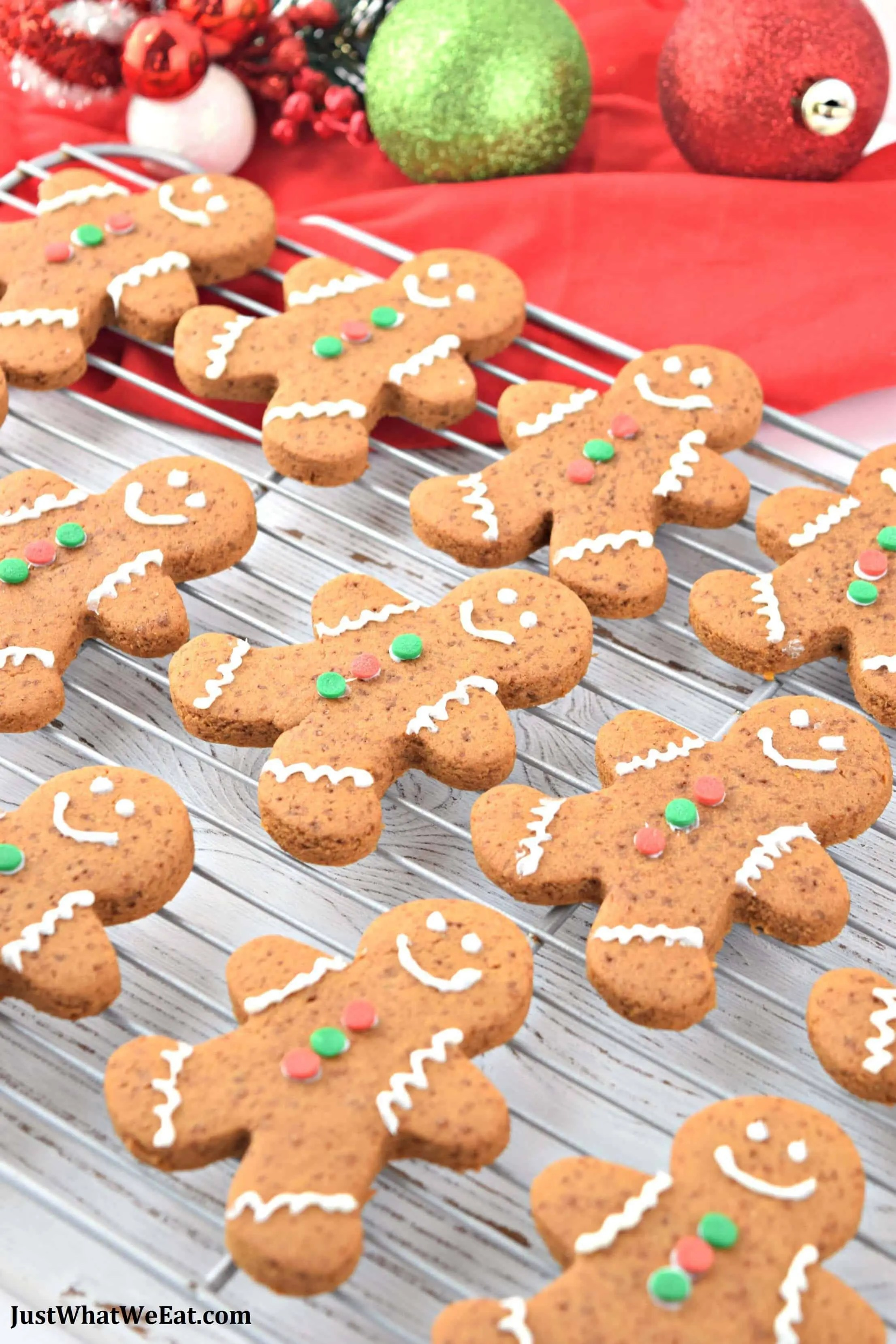 Gingerbread Cookies - Gluten Free & Vegan