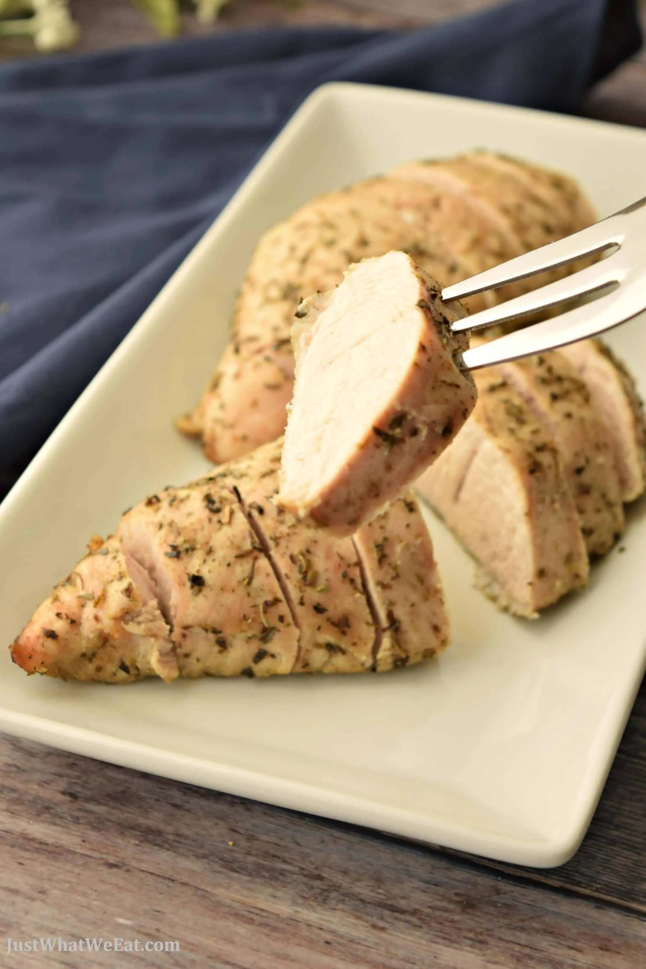 Oven Roasted Turkey Tenderloin - Gluten Free, Dairy Free