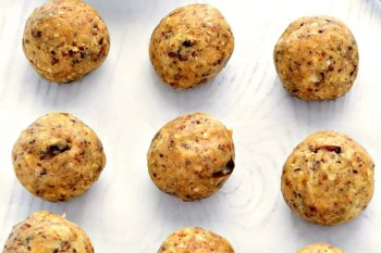 Maple Peanut Butter Energy Balls – Gluten Free, Vegan, Refined Sugar Free