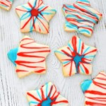 These gluten free and vegan 4th of July Cut Out Cookies are the perfect way to celebrate the 4th! Not only are they super easy to make, but they taste AMAZING!