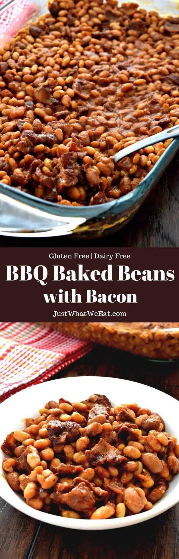 BBQ Baked Beans - Gluten Free, Dairy Free - Just What We Eat