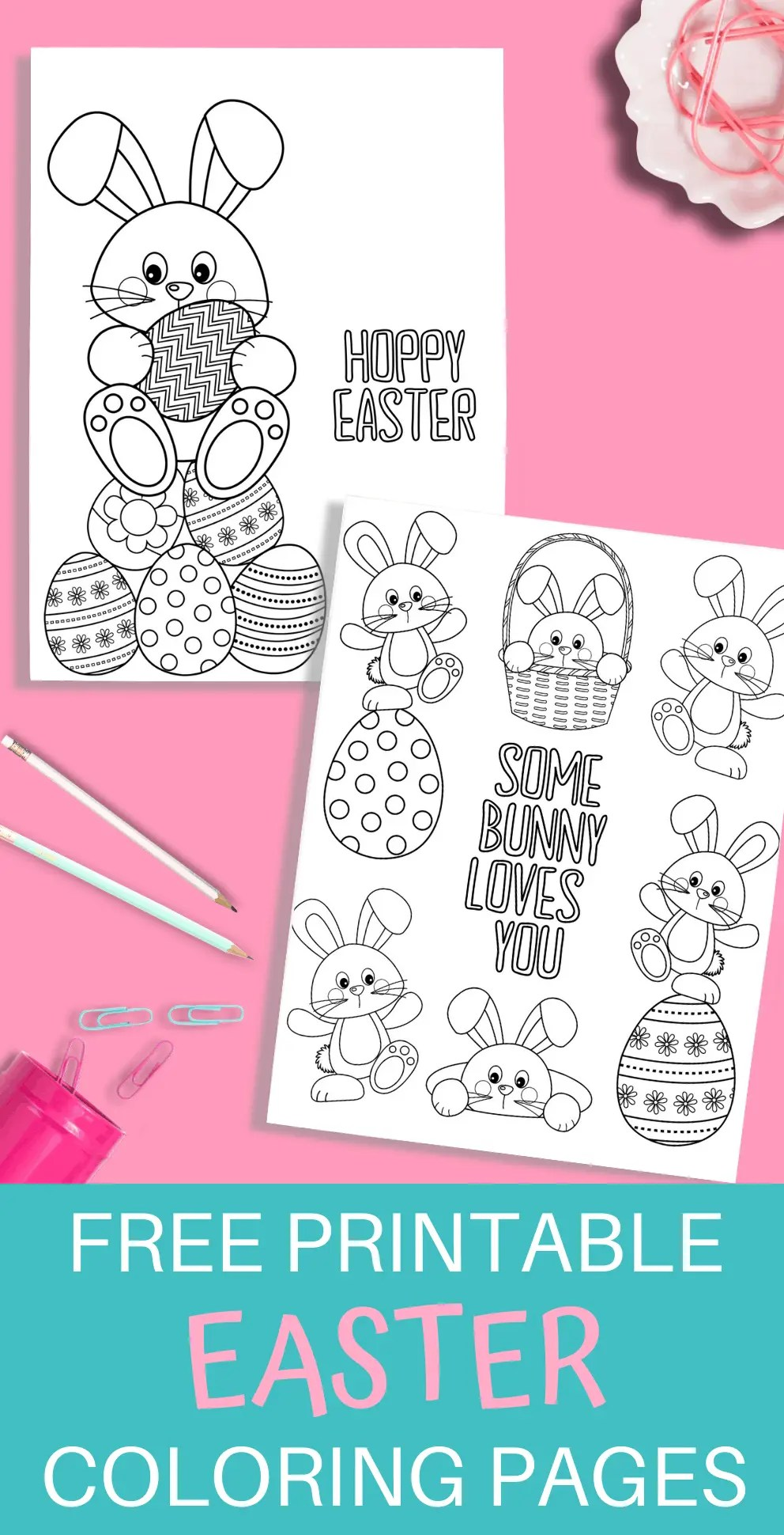 Easter Printable Coloring Pages Just What We Eat