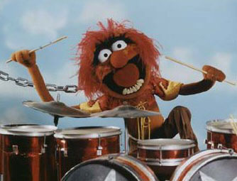 Animal drummer for the Muppet Show House Band