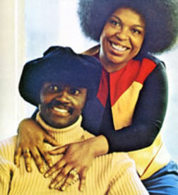 Roberta with the late great Donny Hathaway