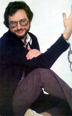 Rupert didn't quite appreciate the difference between cufflinks and handcuffs