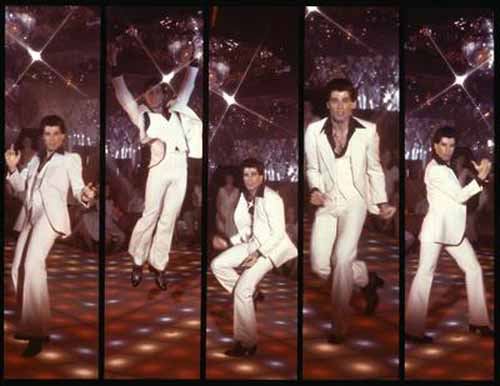 """Travolta an excellent dancer who spawned countless poor imitations every time """"Night Fever"""" gets played"""