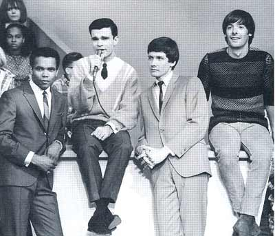 Johnny Nash, Don Webster, Billie Joe Royal and Terry Knight on the Upbeat TV show