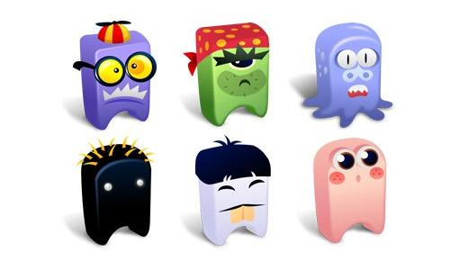 Craziest And Sweetest Monster Icons For Your Desktop