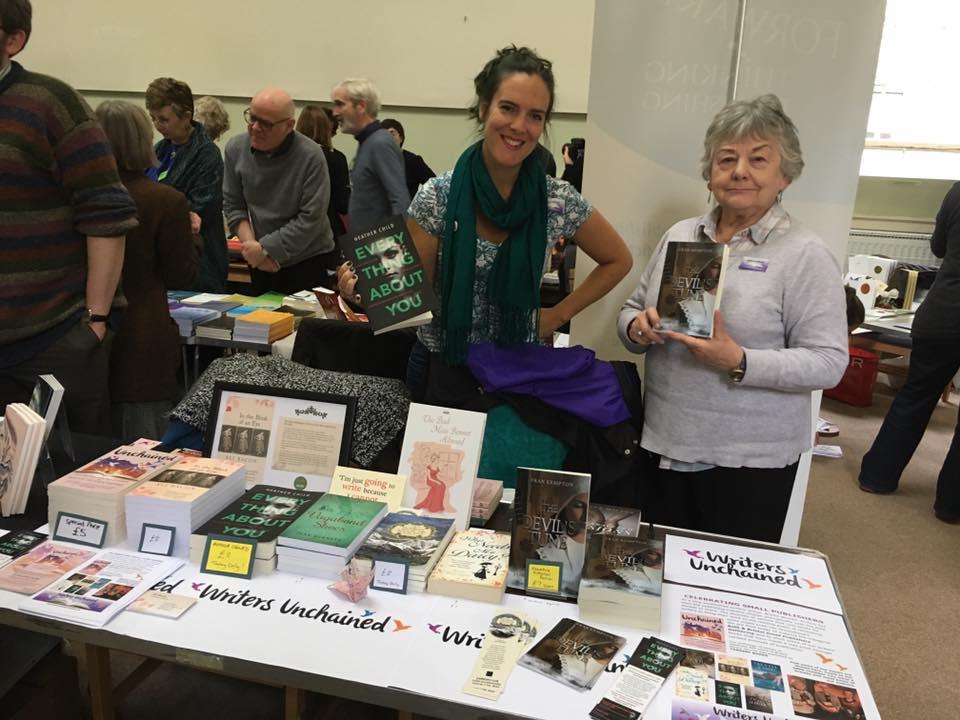 At the book fair