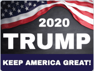 Trump For President 2020 Outdoor Yard Signs - 18x24