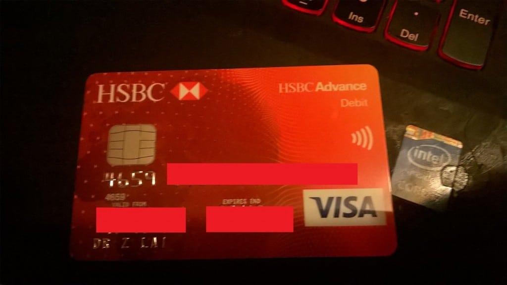 我在英國的銀行帳號之 HSBC ADVANCE   小賴子的英國生活和資訊