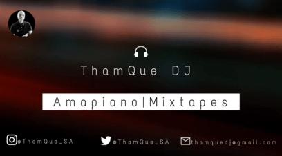 ThamQue DJ - Amapiano Mix 03 December 2020 ft ShaSha, Kabza de Small