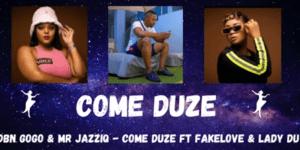 DBN Gogo & Mr JazziQ - COME DUZE ft Fakelove & Lady Du
