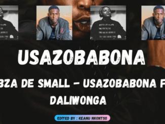 Kabza De Small - Usazobabona ft Daliwonga