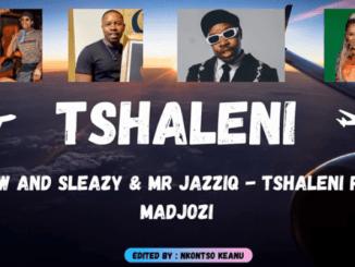 Mellow and Sleazy & Mr JazziQ - Tshaleni ft Sho Madjozi