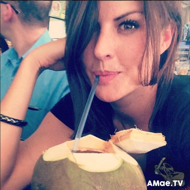Fresh coconut by Alicia Mae
