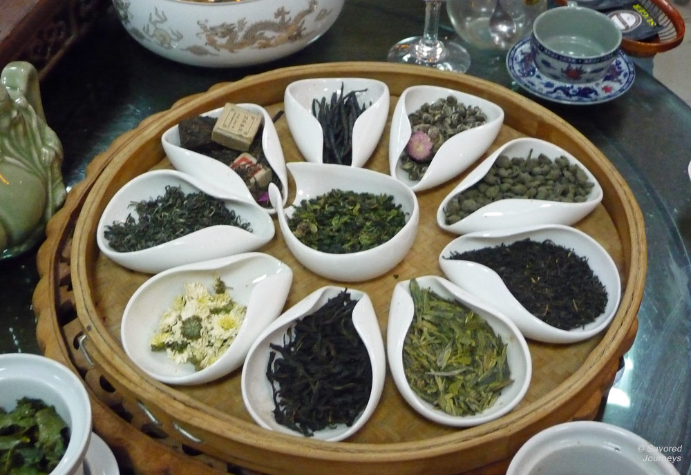 Tea time in China by Laura Lynch
