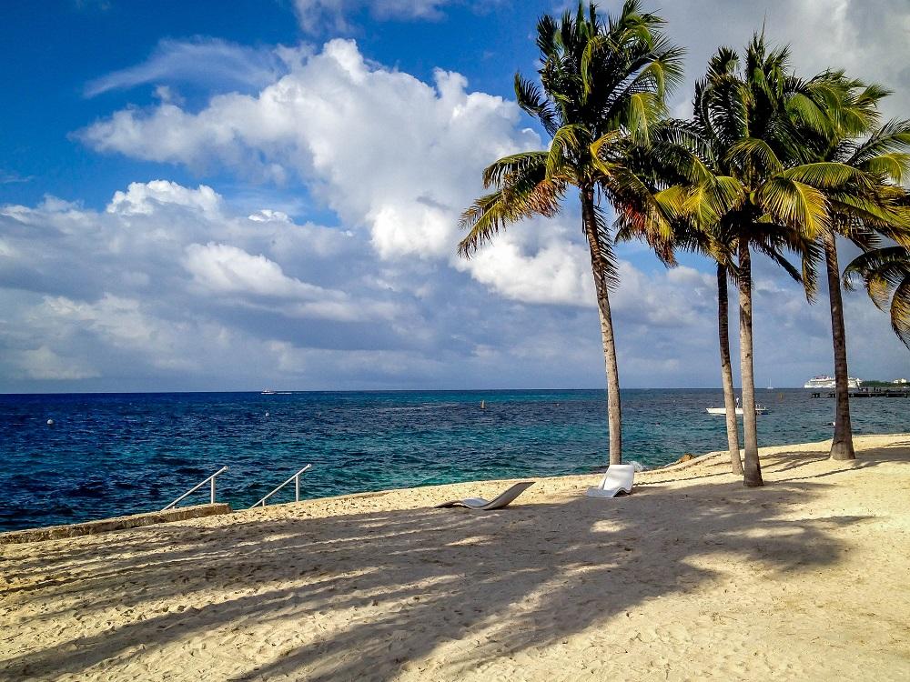 Mexico-Cozumel-Chankanaab-Park-beach by Lance Longwell