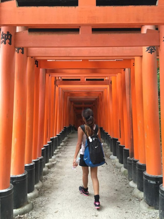 I explored Japan this year but no longer as a solo traveler since my boyfriend came to join.