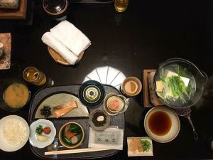 Heres what a traditional Japanese breakfast at a ryokan inhellip