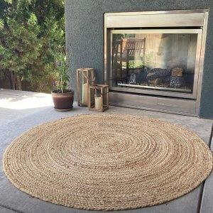 outdoor patio garden rugs jute rug