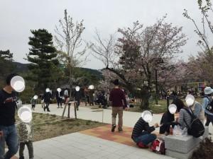 京都市動物園の広場