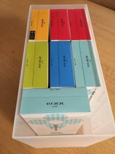 無印PPワイドファイルボックスにティシュを収める方法③
