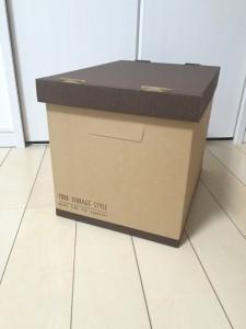 ダイソー紙ボックス