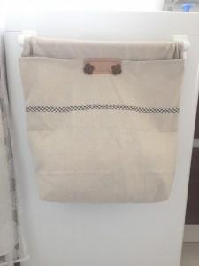 オシャレ着洗い用洗濯かごを手作り