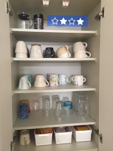 キッチン コップ置き場 空きスペース