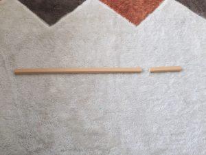 配線カバーを糸鋸で切断