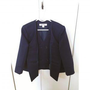 幼稚園の制服 ブレザー ベスト 収納方法